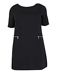 Samya Zip Pocket Detail Dress