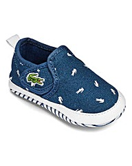 Lacoste Baby Gazon Trainers