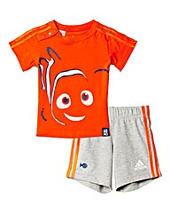 Adidas Disney Nemo Tee and Short Set