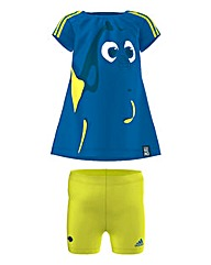 Adidas Disney Dory Tee and Short Set