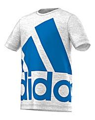Adidas Essentials Logo Print Tee