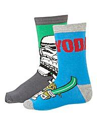 Boys LEGO Star Socks