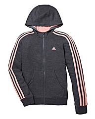 adidas Girls Essential Zip-Up Hoodie