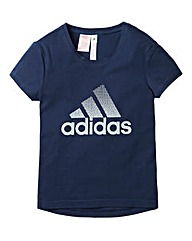 adidas Girls Logo T-Shirt