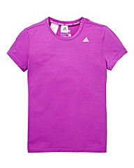 adidas Girls Purple T-Shirt