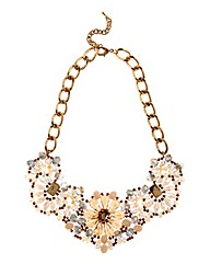 Adele Marie Floral Beaded Necklace