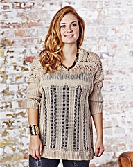 Jeffrey & Paula Ladder Stitch Jumper-L27