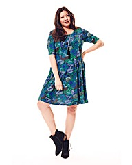 Jeffrey & Paula Print Jersey Dress