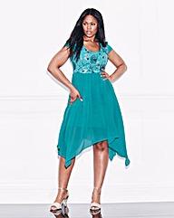 Lovedrove Sequin Trim Dress