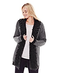 Jeffrey & Paula Loopy Knit Trim Cardigan