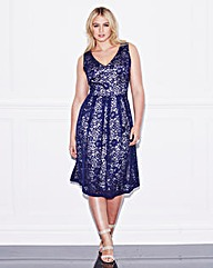 Lovedrobe Lace Skater Dress