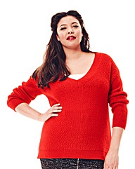 Jeffrey & Paula V-Neck Jumper