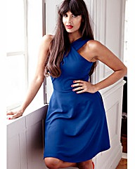 Jameela Jamil Jersey Crepe Dress