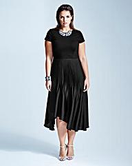 Coast Toola Black Cap Dress