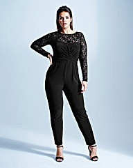 Coast Revetto Lace Jumpsuit