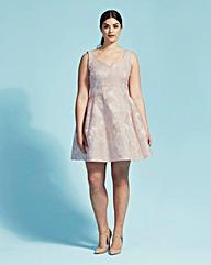 Coast Bridget Jacquard Dress