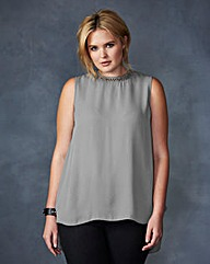 Lovedrobe Pleated-Back Top