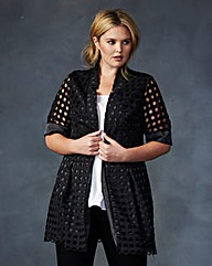 Lovedrobe Crochet Jacket