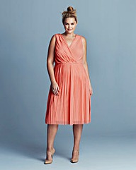 Lovedrobe Grecian Pleat Dress