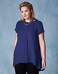 Grazia Dipped Back Top