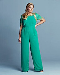 Lovedrobe Luxe Embellished Jumpsuit