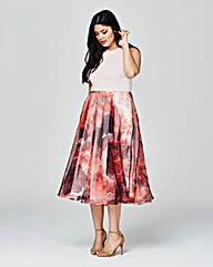Coast Print Surana Dress