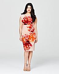 Coast Print Lucille Dress