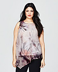 Coast Faro Print Tunic Top