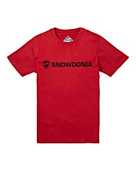 Snowdonia Graphic T-Shirt Long