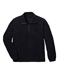 JCM Basic Zip Neck Fleece