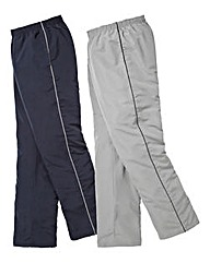 JCM Sports Pack 2 Woven Pants Short 27