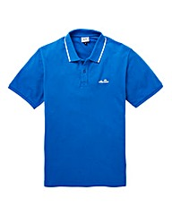 Ellesse Apolloni Pique Tipped Polo Long