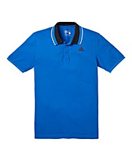 adidas Blue Essentials Polo
