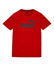 Puma Essential Red Logo T-Shirt