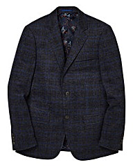 Black Label Checked Wool Blazer Regular
