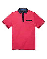 Black Label Hove Pique Polo Shirt R