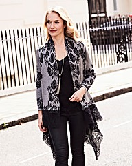 Joanna Hope Print Cardigan