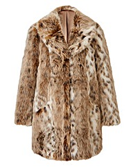 JOANNA HOPE Faux Fur Coat