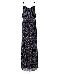 Joanna Hope Bead Detail Maxi Dress