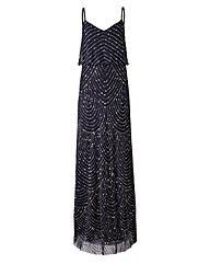 Joanna Hope Bead Detail Maxi Dress