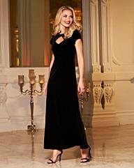 Joanna Hope Velour Dress