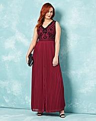 Joanna Hope Beaded Bodice Maxi Dress