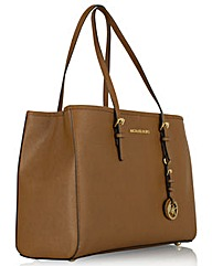 Michael Kors Jtst Trvl Large Tan Bag