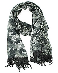 Camouflage Pattern Scarf