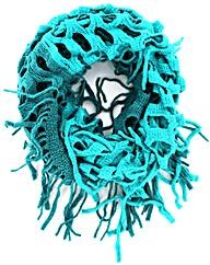Lattice Knitted Snood