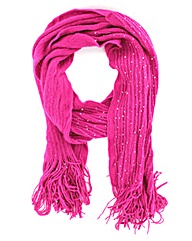 Knitted Sequin Scarf