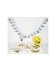 Despicable Me Minions Yellow Party Pack