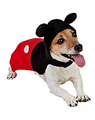 Disney Mickey Mouse Pet Dog Costume