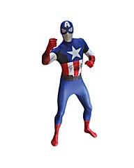 Captain America Adult Unisex Morphsuit