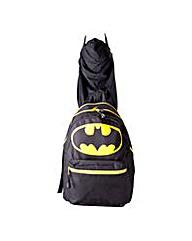 Batman Big Logo Hooded Backpack